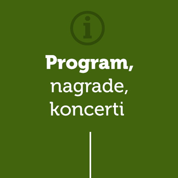Green Run program nagrade koncerti